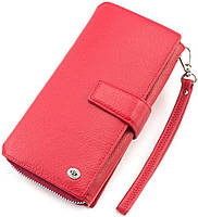 Жіночий шкіряний гаманець великого розміру ST Leather