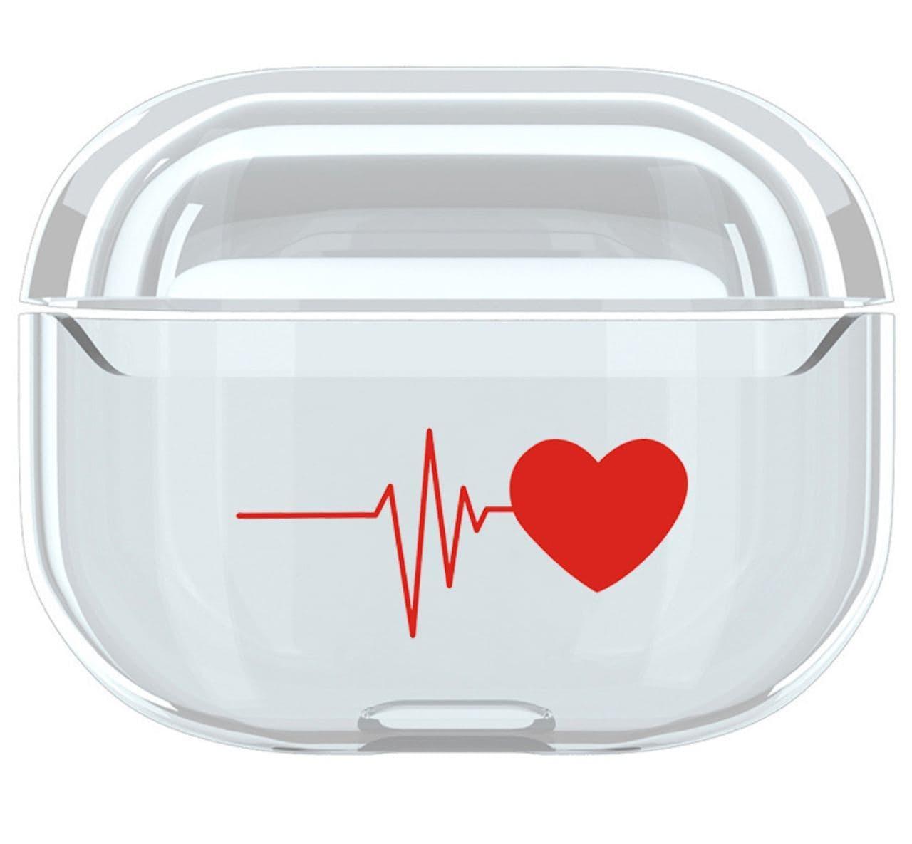 Чохол Серце для Apple AirPods Pro