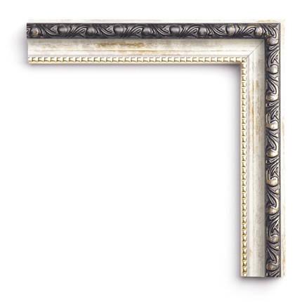 Настенное зеркало БЦ Стол Жанетт квадратное B01 белое, фото 2