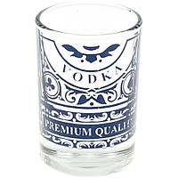 """Чарка скло """"Vodka"""" 50мл 4533/Галерея"""