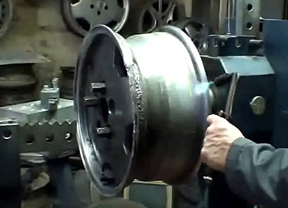Сварка автомобильных дисков аргоном