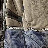 62 р. Чоловіча куртка зимова (Великі розміри) тепла на кашемире з капюшоном чорна Останнє залишилося, фото 3