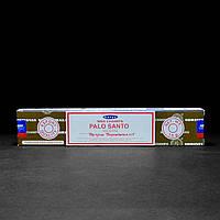 Благовония Palo Santo (Пало Санто) от фирмы Satya (Сатья) - натуральные, индийские, пыльцевые 15 г