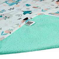 Двухсторонняя непромокаемая пеленка Eco Cotton 65х90 см ТМ ЭКО ПУПС EPG10N-6590