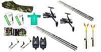 Карповый рыболовный набор, Наборы для рыбалки, Комплекты рыболовные, Готовые наборы для рыбалки!