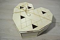 Деревянная коробка для упаковки. Подарочная коробка.мини