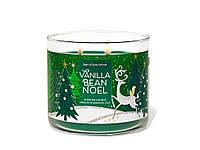 Аромасвеча Bath&Body Works VANILLA BEAN NOEL Scented Candle