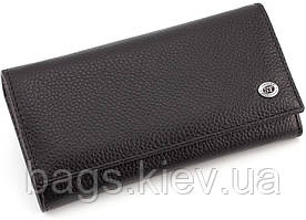 Женский кожаный кошелек на кнопке ST Leather 16533