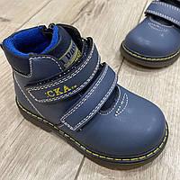 Демісезонні ботинки для хлопчика Сказка 22-25 розмір