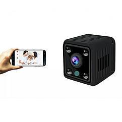 Беспроводная мини WiFi IP камера BMSOAR EC91H-U15 с батареей.AP Hotspot.   360Eyes Pro.