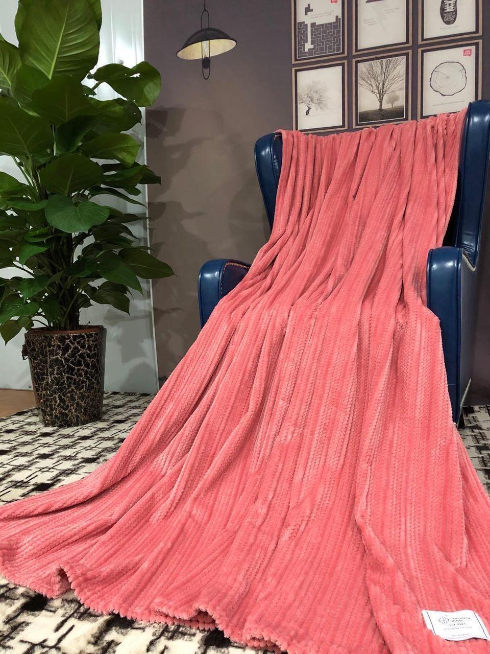 Плед микрофибра бамбук гладкий Размер 150*200