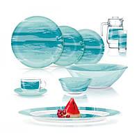 """Набір столовий скло 46предм. """"Luminarc. Simply Seascape"""" Q3723/49073"""