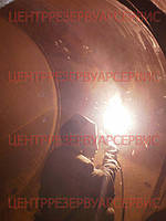 Заварка коррозионных раковин и отверстий с постановкой отдельных заплат