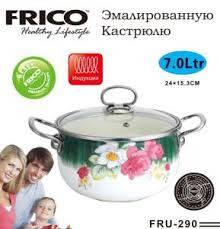 Кастрюля FRICO FRU-290 24 см, 7.0 л, фото 2