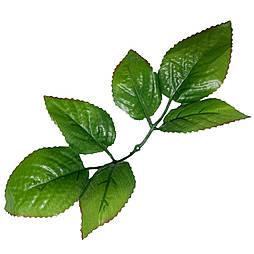 Лист розы 6-ка крупный,24 см (100 шт. в уп.)