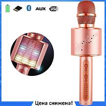 Мікрофон караоке YS-66 2 в 1 - бездротової Bluetooth мікрофон - портативна колонка зі слотом USB + TF card, фото 2