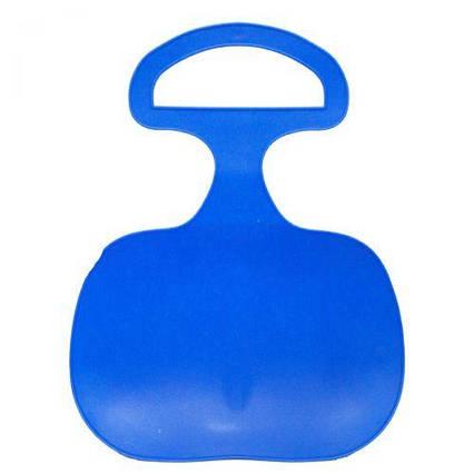Санки-ледянка, 43 см, синяя 180001U
