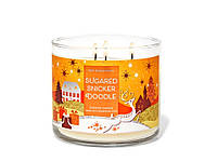 Аромасвеча Bath&Body Works SUGARED SNICKERDOODLE Scented Candle