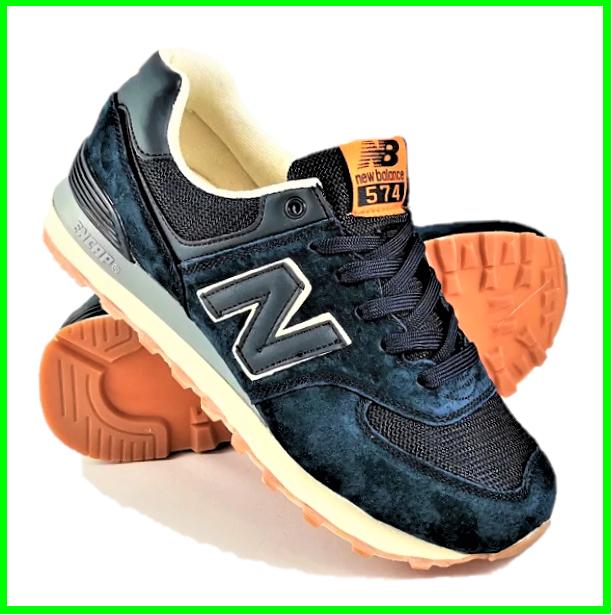 Чоловічі Кросівки New Balance 574 Сині (розміри: 44,45) Відео Огляд, фото 2