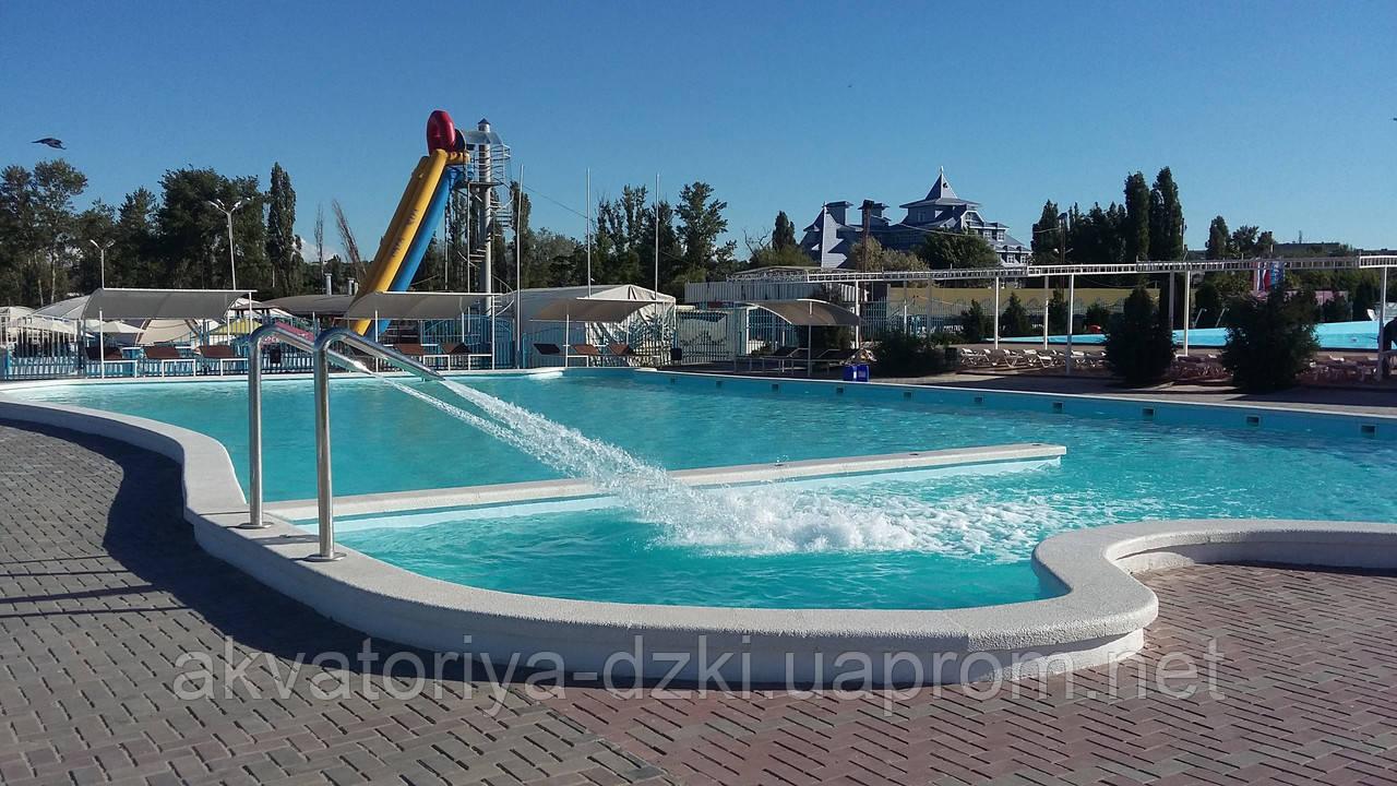 Стаціонарний басейн: Мозаїка і композитний басейн