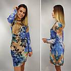 Платье женское кашемир NOMI270, универсальный 46-52рр, фото 2