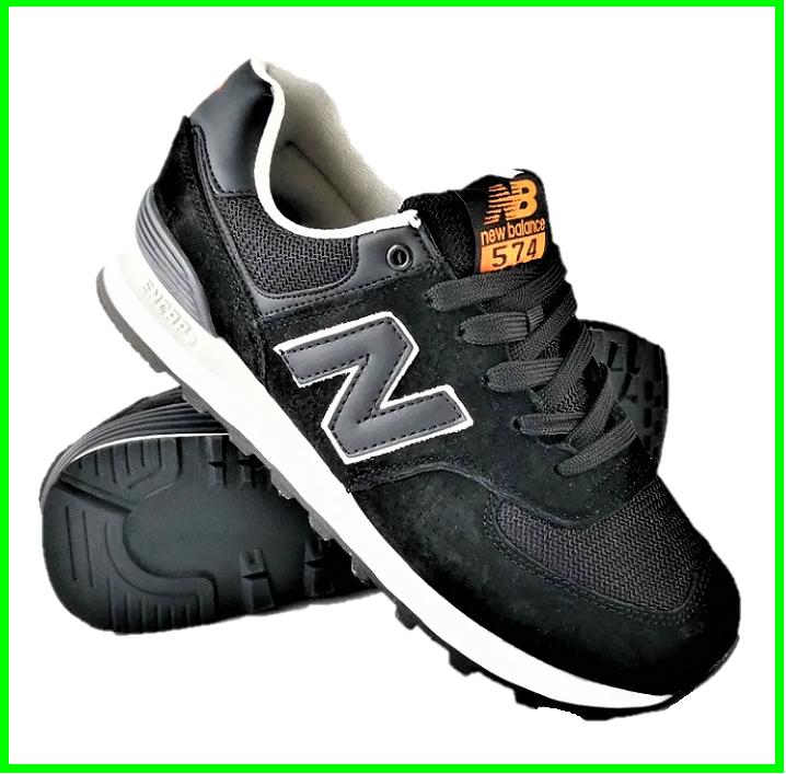 Мужские Кроссовки New Balance 574 Черные (размеры: 41,42,43,44,46) Видео Обзор, фото 2