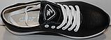 Кроссовки черные женские кожаные малыши от производителя модель ДР109М, фото 4