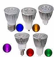 Світлодіодна лампа RP11-01 LED 3W Blue E27 220V, фото 2