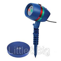 Лазерный проектор на Новый год Star Shower lazer light. Лучшая Цена!