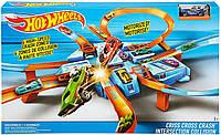 Игровой набор Хот Вилс Опасный перекресток Оригинал Hot Wheels Criss Cross Crash Motorized (DTN42)