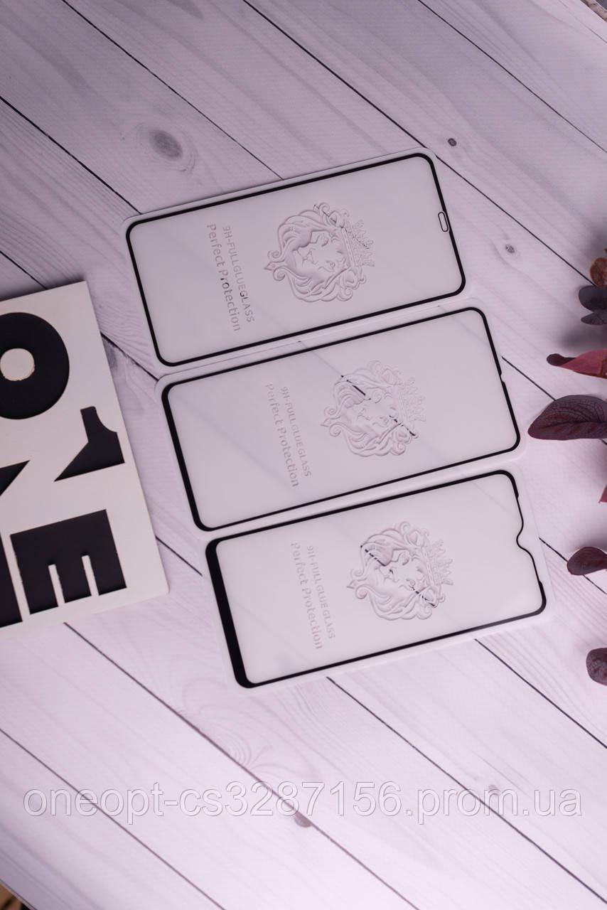 Защитное стекло полный клей LION Iphone 12/12 Pro Black