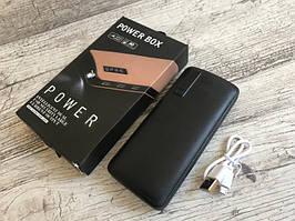 Универсальная батарея внешний аккумулятор PowerBank 50000mAh Черный (NJ-JS-9)