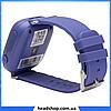 Дитячі Розумні годинник з GPS Smart baby watch Q90 Темно-сині, Дитячі смарт годинник-телефон з трекером і, фото 4