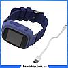 Дитячі Розумні годинник з GPS Smart baby watch Q90 Темно-сині, Дитячі смарт годинник-телефон з трекером і, фото 5