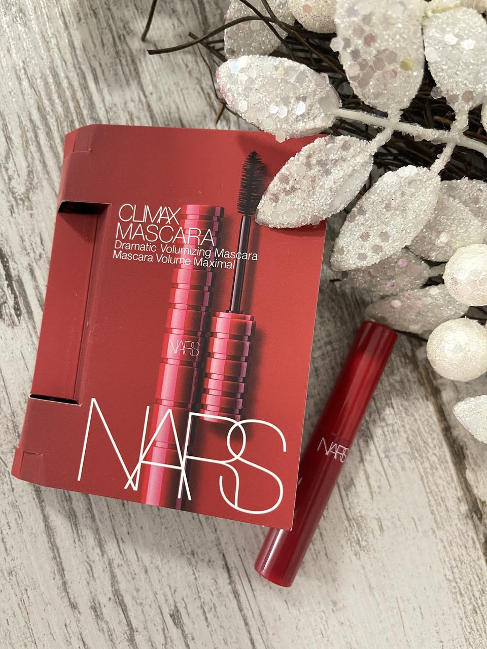 Объемная, подкручивающая тушь NARS Climax Mascara