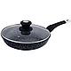Сковорода з кришкою EDENBERG 28 см EB-4136 гранітне покриття, фото 8