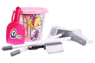 Набор для уборки (розовый) 5835