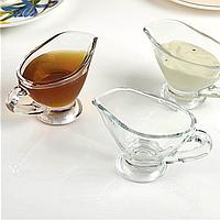 Соусницы маленькие стеклянные с ручкой 2 шт Pasabahce Басик 60 мл (55002)
