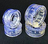 Автобаферы для пружин 60мм міжвиткове відстань пружини Силіконові(Прозорі), фото 2