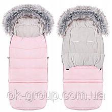 Детский конверт для коляски, санок Maxi 4 в 1 Springos SB0024 Pink