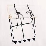 Детская палатка (вигвам) Springos Tipi XXL TIP02 White/Black, фото 7