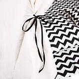 Детская палатка (вигвам) Springos Tipi XXL TIP02 White/Black, фото 8