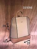 Рюкзак жіночий з штучної шкіри, фото 2