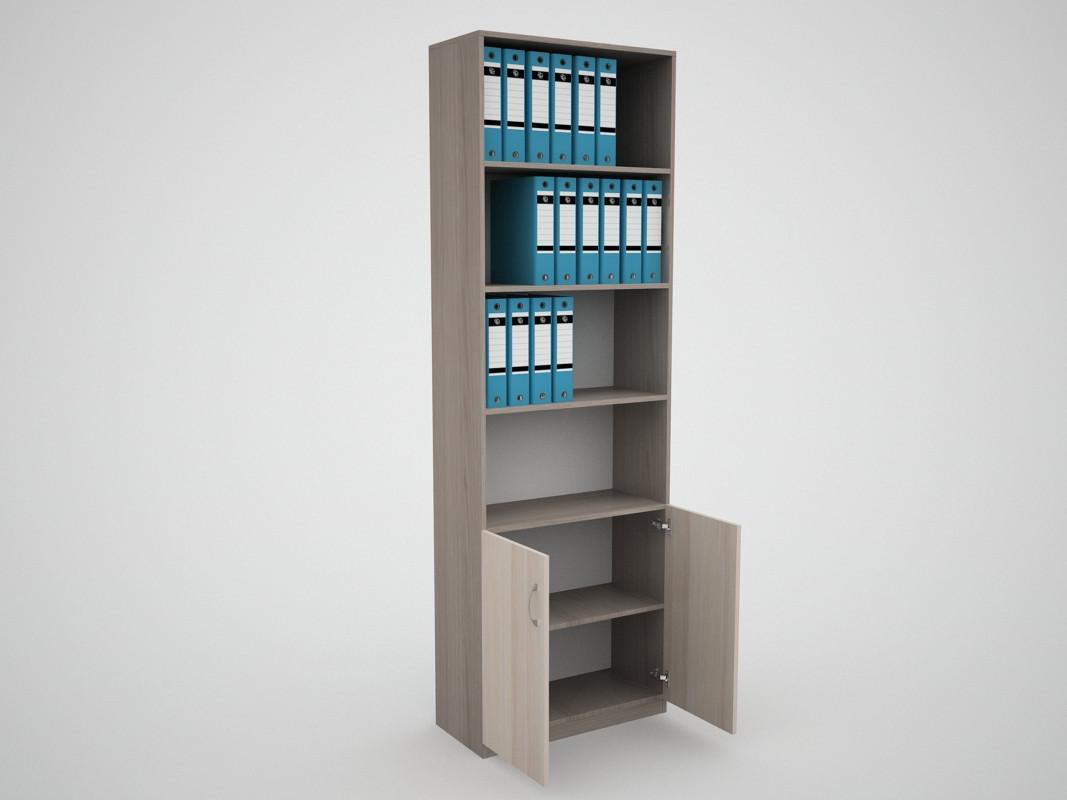 Офісний пенал стелаж для документів прямий FlashNika / ФлешНика Бізнес ШБ-33