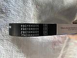 Ремінь генератора Ваз 2110 2111 2112 2113 2114 2115 2170 2171 2172 2173 пріора ГУР (L=1115) ручейковий ЛУЗАР, фото 3