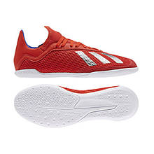 Детские футзалки adidas X 18.3 IN JUNIOR BB9396 36 2/3