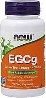 Экстракт зеленого чая Now Foods EGCg Green Tea Extract 400 mg 90 капсул
