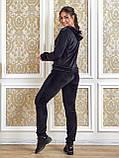 Женский спортивный костюм  из велюра, разм 52,54,56, 4 цвета, фото 9