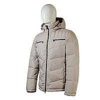 Пуховик мужской Snowimage средней длины светло серый