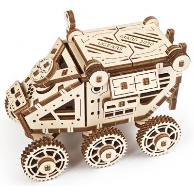 Механический 3D пазл «Марсобагги» деревянный конструктор UGears